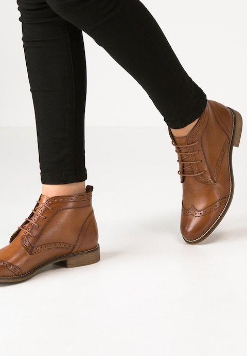 57e06d58179 Ankle boots - cognac @ Zalando.co.uk 🛒 in 2019 | Shoes | Shoe boots ...