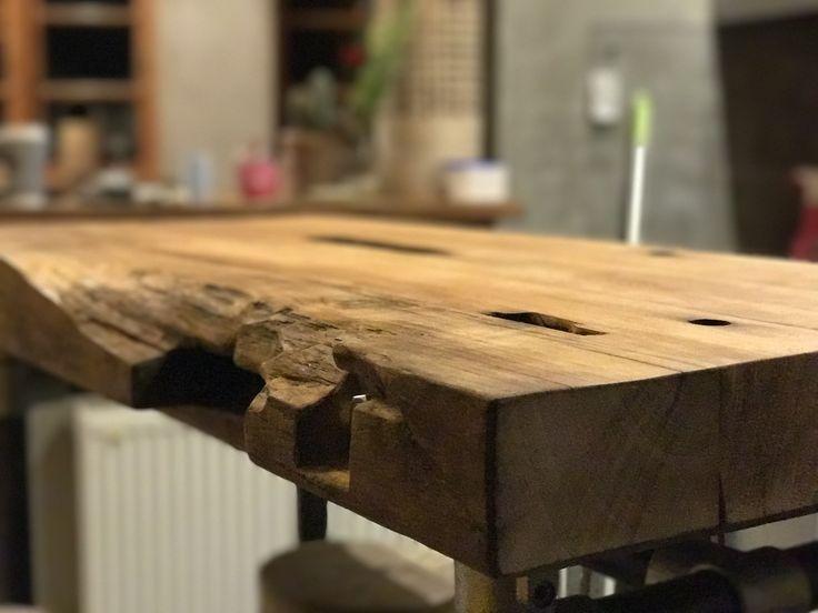 die besten 25 altholz tischplatte ideen auf pinterest altholz tische holztische und. Black Bedroom Furniture Sets. Home Design Ideas