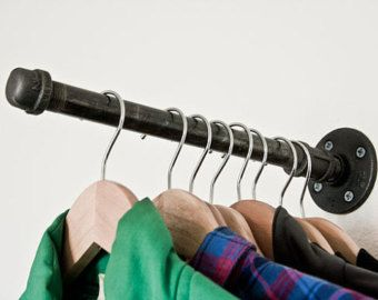 Faceout Clothing Rack II 12 Faceout set of 3 by BrooklynBlackPipe