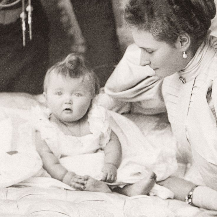 Little Grand Duchess Olga Nikolaevna, the eldest daughter of the last Russian Emperor and Empress, 1896.
