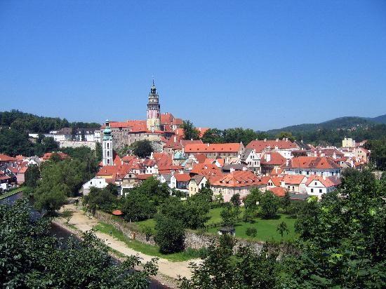 Cesky Krumlov-Czech republic- southern bohemia area