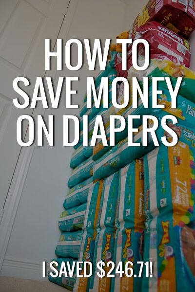 Find out how to save a ton of money on your diaper bill. Anyone can do this and save hundreds of dollars a year!