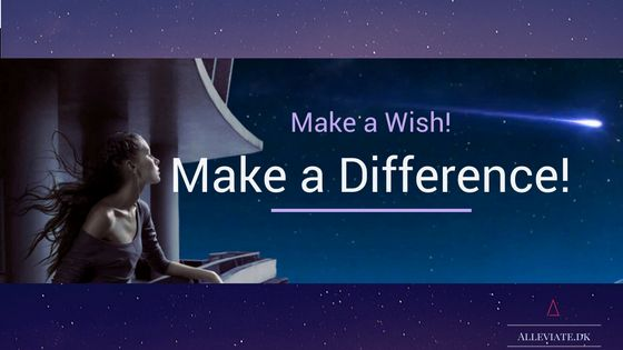 I know it can be a bit daunting; reaching out and asking for something, but here is your opportunity. Feel free to make a wish. It makes a difference for me!