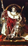 Napoleon as Jupiter Enthroned  by Jean Auguste Dominique Ingres