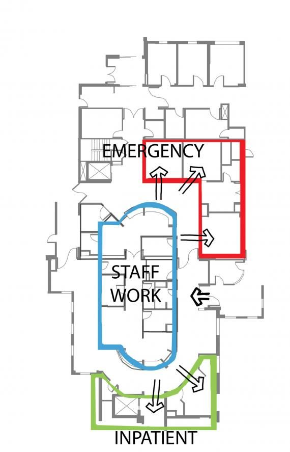 103 best images about hospital on pinterest the future ba d and medical for Emergency room design floor plan