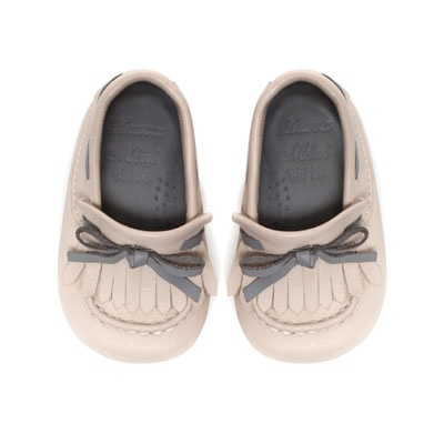 Leather moccasin - Shoes - Mini - Kids - ZARA Thailand