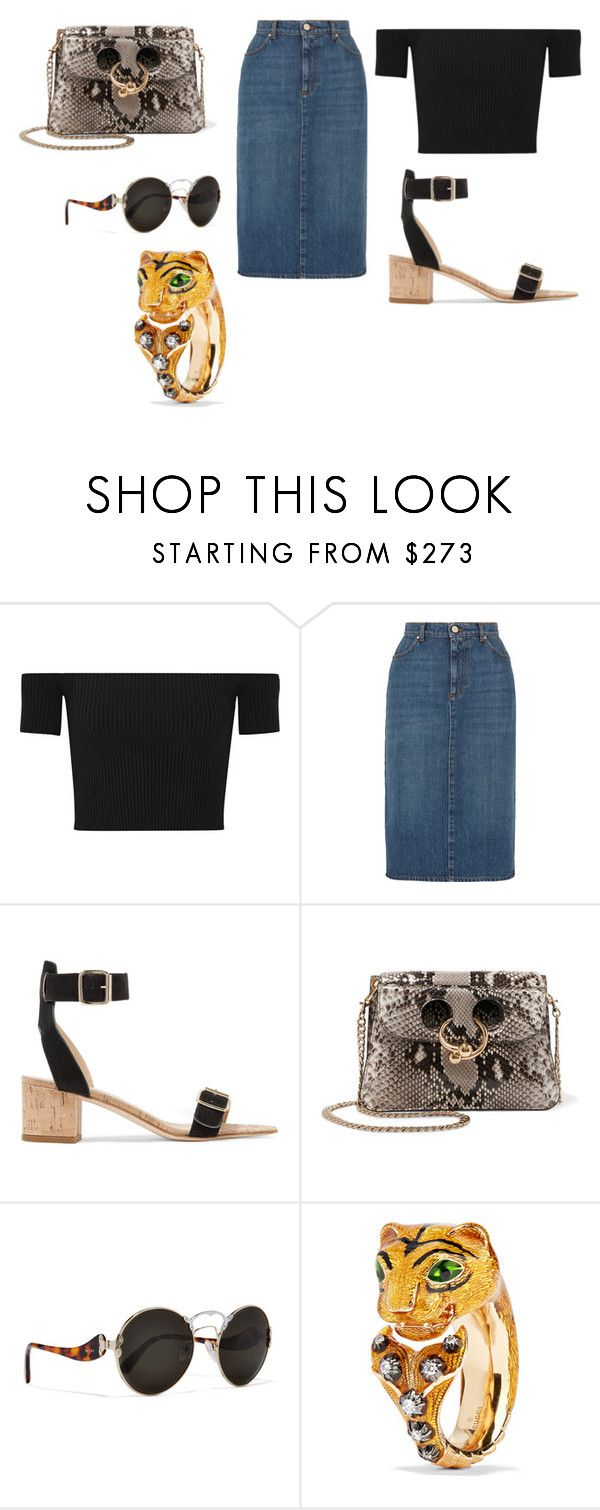 """""""Sin título #1901"""" by ceciamuedo ❤ liked on Polyvore featuring Michael Kors, AlexaChung, All Tomorrow's Parties, J.W. Anderson, Prada and Gucci"""