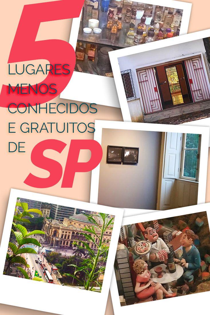 Descubra 5 lugares pouco conhecidos, gratuitos e obrigatórios em São Paulo! 5 passeios em SP que você irá adorar :)