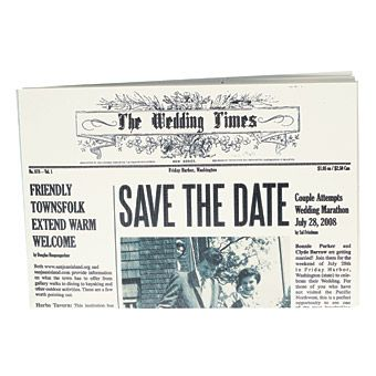 Bonnie & Clyde themed wedding? It's actually cute! :D