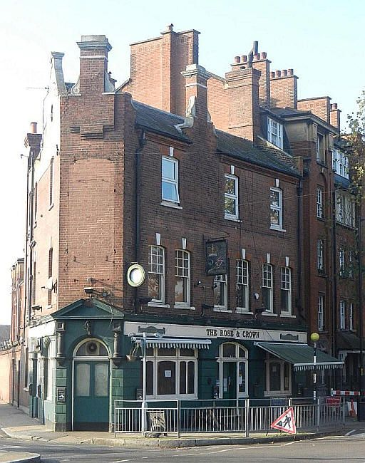 Rose & Crown, 96 Rodney Road, Walworth, SE17 - in November 2011
