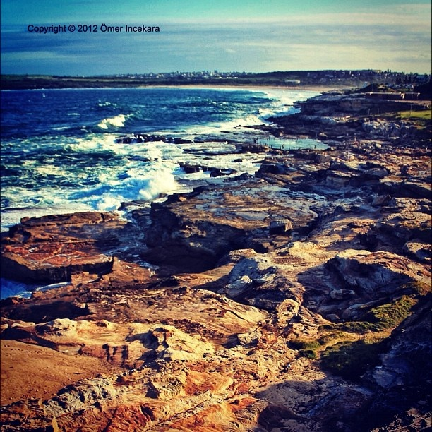Southern coastline and Maroubra beach - Sydney, Australia **I want to visit this place** :)