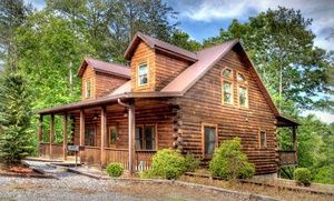 Groupon - 2-Night Stay at Hidden Creek Cabins in Great Smoky Mountains, NC in Bryson City, NC. Groupon deal price: $159