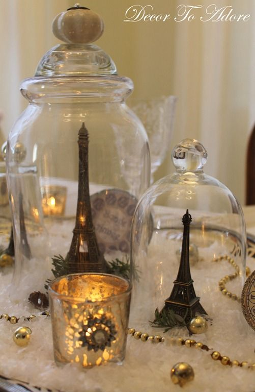 Decor To Adore: Parisian New Year's Eve Party~ Bonne . So elegant!