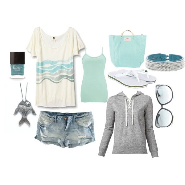 seafoam, created by lagu on Polyvore
