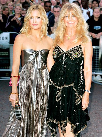 """July 20, 2005 - """"Having a daughter follow in mom's footsteps is not easy. She said, 'Hey, I'm my own person,' and dammit, we made sure she was,"""" Hawn (supporting Hudson at the Skeleton Key premiere in London) has said. """"I believe that one of the most important things as a parent  you can do is let go at times so that these children can formulate their own identity."""""""