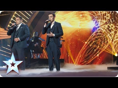 Richard and Adam sing 'Somewhere' from West Side Story   Semi-Final 1   ...