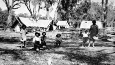 The first ever mass strike of indigenous Australians occurs as the Yorta Yorta people protest against their deplorable living conditions - ** Click for more & please share