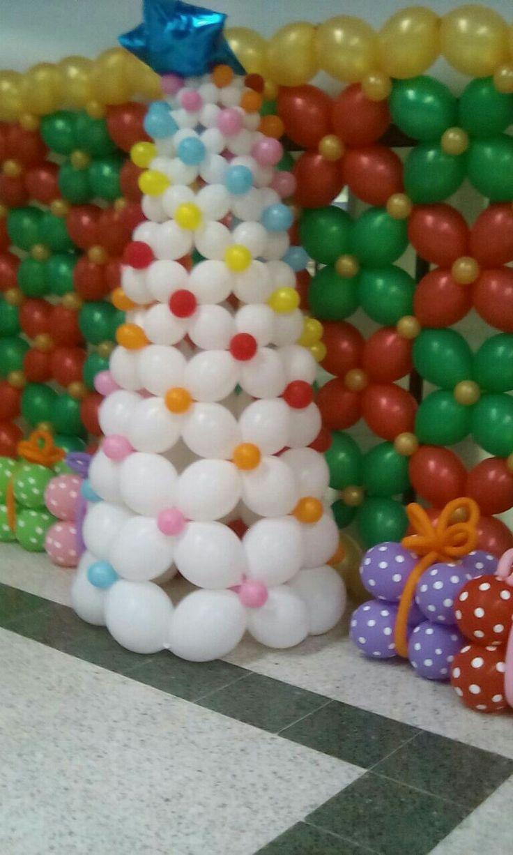 Muro de globos