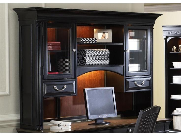 Liberty Furniture Living Room Jr Executive Credenza Hutch 260 HO131   Sims  Furniture LTD