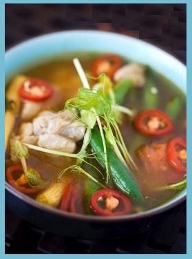 Tom Yum! Thai chicken soup