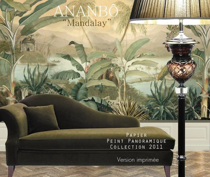1000 ideas about painted wall murals on pinterest for Colonial mural wallpaper