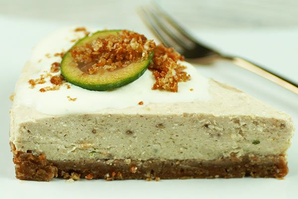 Feijoa cheesecake slice – Recipes – Bite