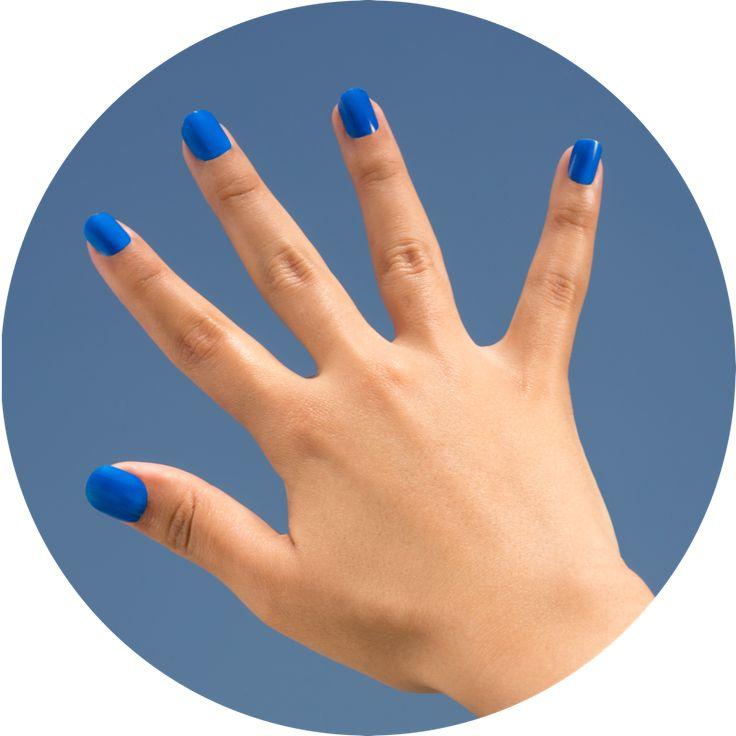HOW | Nail Polish  08. Karaköy Blue www.wemakeup.it/#how