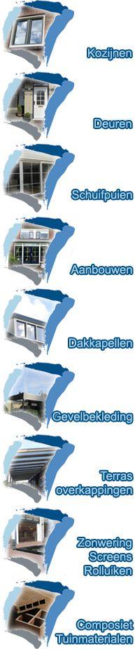 Zonwering / Screens / Rolluiken - CK Kozijnen