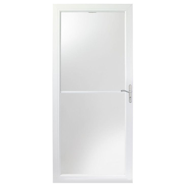 Andersen 36 in x 80 in 2500 series white universal self for Home depot anderson doors