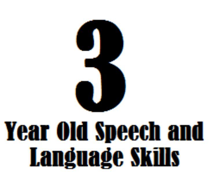 speech and language