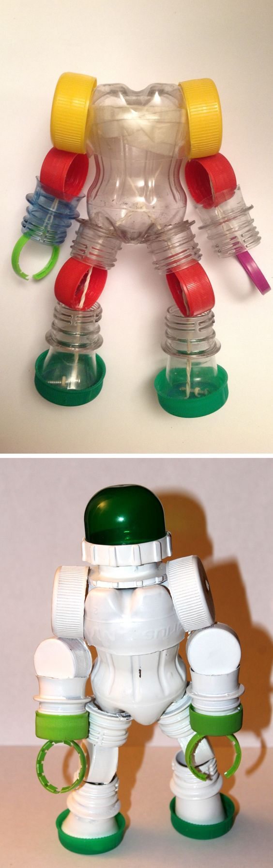 bottle toy:riciclo