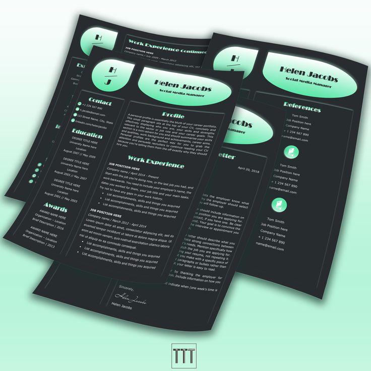 Fashion resume beauty resume black resume icons designer