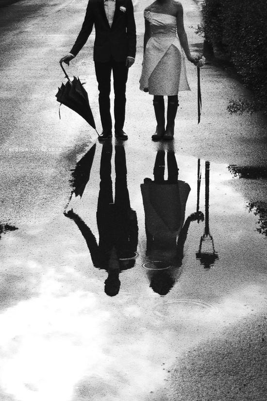 El reflejo de una pareja . Shadows of a Couple