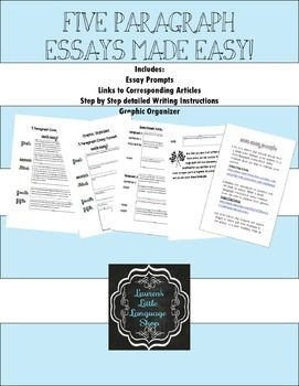 5 paragraph essay made easy