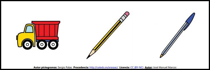 Clasificación de palabras: 3 elementos, nivel fácil. Lámina 8 http://informaticaparaeducacionespecial.blogspot.com.es/2009/05/clasificacion-de-palabras-3-elementos.html