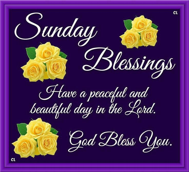 553 best Sunday Blessings! images on Pinterest | Happy ...