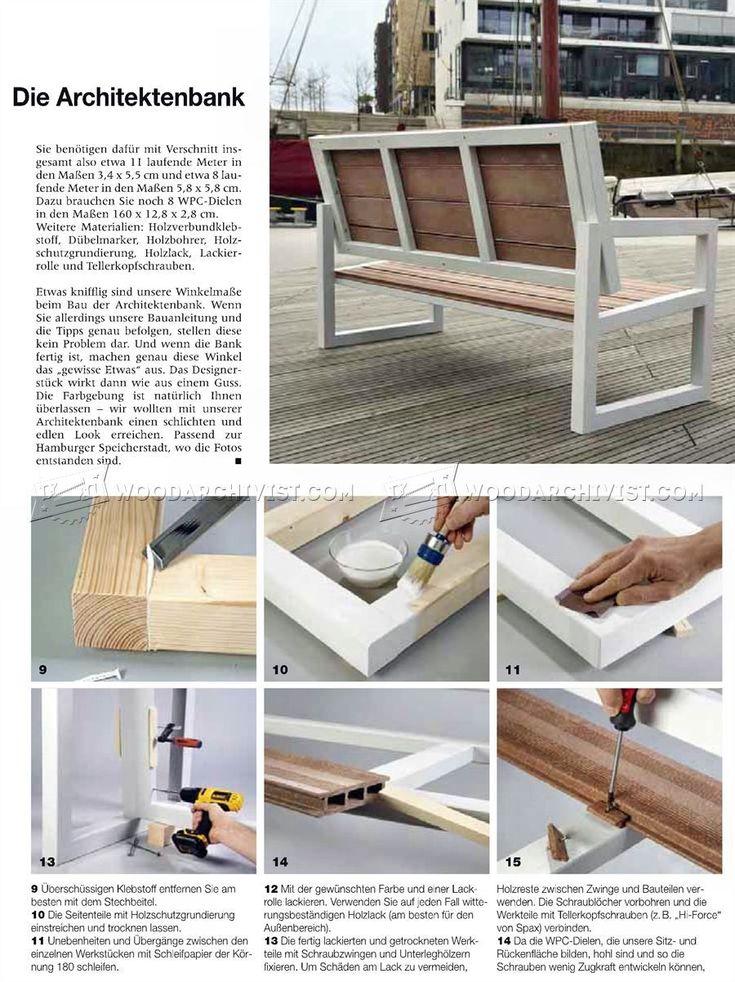 Adirondack Chair Bauanleitung , 95 Best Wood Working Outdoor Images On Pinterest