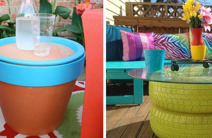 Sätt färg på din uteplats – 10 roliga projekt till altan och balkong