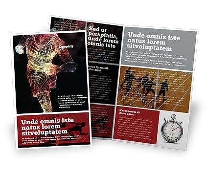 http://www.poweredtemplate.com/brochure-templates/sports/02660/0/index.html Running Man Bi Fold Brochure Template