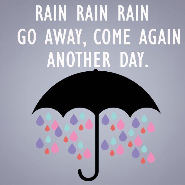 Sobre um dia chuvoso....