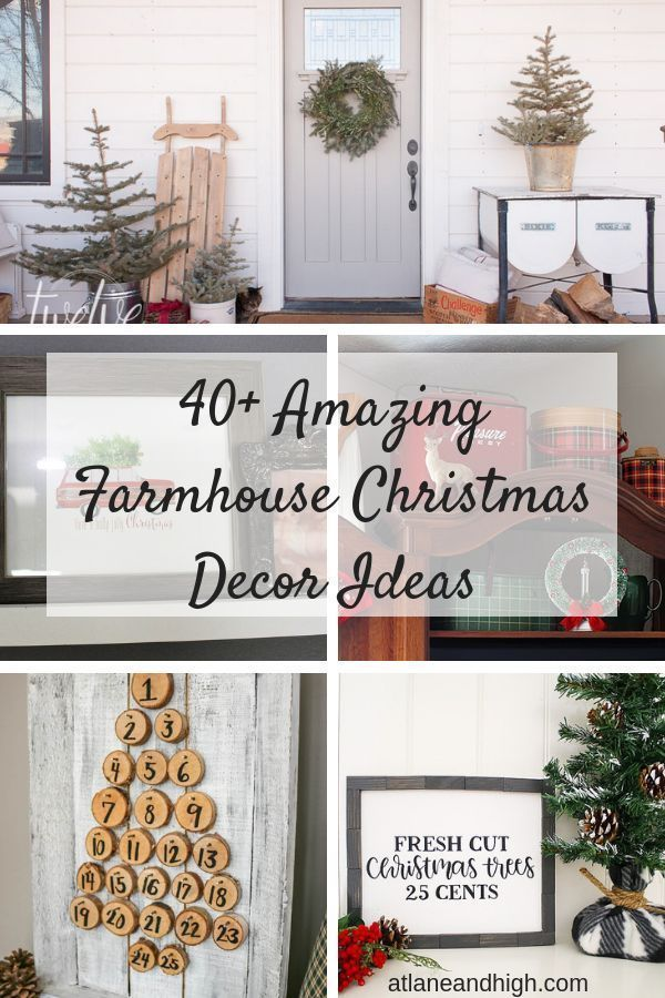 I Have Gathered A Ton Of Farmhouse Christmas Decor Ideas That I Think Even Joanna G Farmhouse Christmas Decor Christmas Decorations Bedroom Christmas Decor Diy