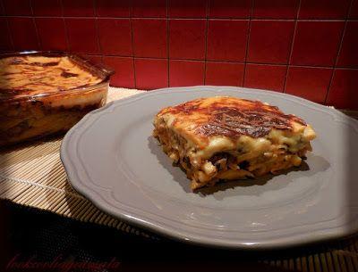Lookcool...λεια γεύματα! : Σούπερ light παστίτσιο με μανιτάρια