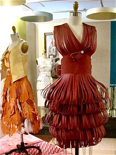 Incredibly awesome paper dresses by Rainy Lawrence!!!!