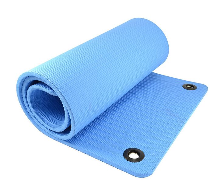 Our Exercise Mats offer a padded all purpose surface and insulation for floor exercises.