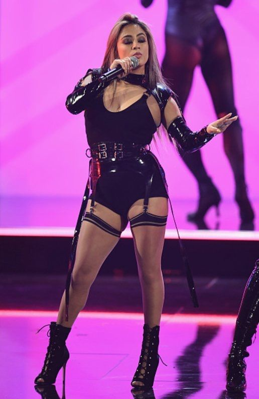 Ally Brooke Fifth Harmony PCAs Performance