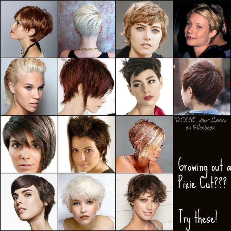 short hairstyles for growing out pixie cuts - Google Search