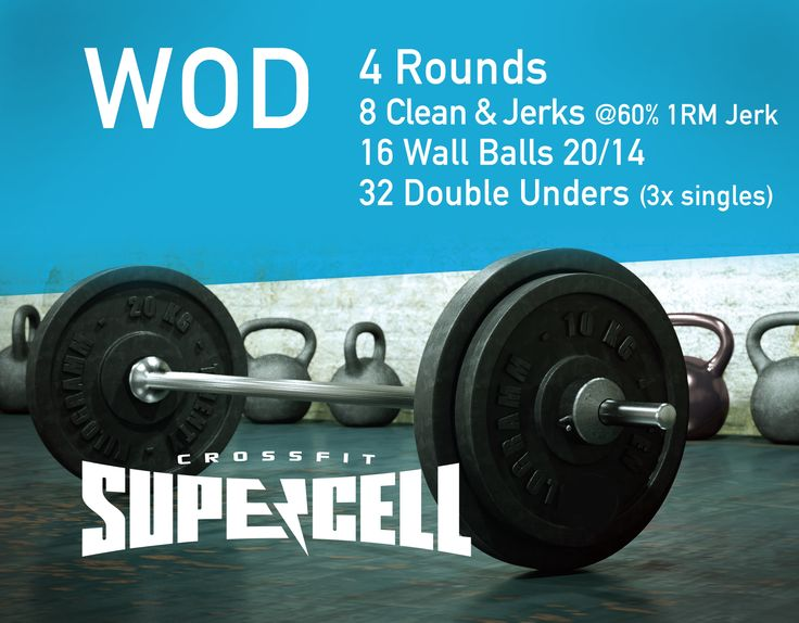 #CrossFit #Supercell #WOD