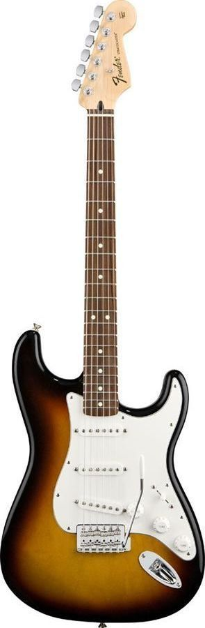 Fender Standard Stratocaster When Leo Fender introduced the Stratocaster in 1954 no one could have predicted the impact it would have on the guitar world and the world of music for that matter. The st