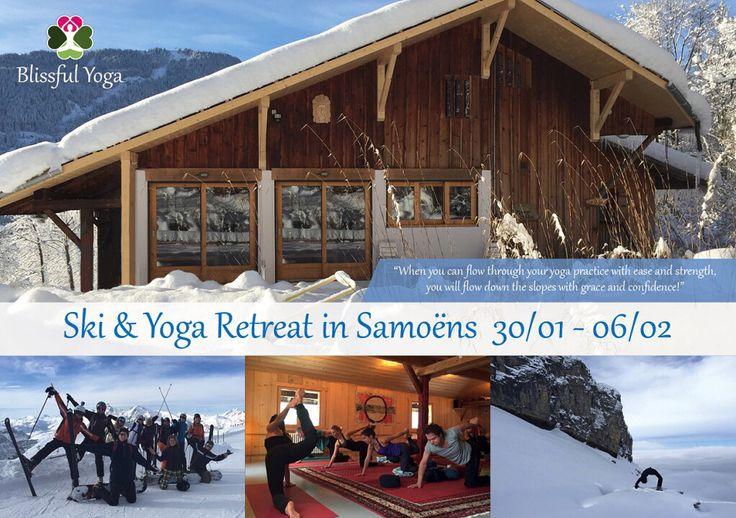 Ski & Yoga retreat!!! Yes! Ook in 2016 gaan we weer op #ski & #yoga #retreat naar de Franse Alpen!  Deze week is voor iedereen die houdt van yoga, #wintersport en #natuur! In de ochtend wordt je wakker in een prachtig wit landschap en begin je de dag met een energieke #yogales. Daarna staat het #ontbijt voor je klaar zodat je gevuld met energie kunt beginnen aan je #skidag!........ Meer info www.popupyogastudiohaarlem.nl of www.idtravel.nl