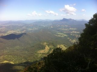 Stunning view of Mt Warning from Springbrook Mountain's 'Best of All Lookout' (T1) Thanks Keith! #scenictours